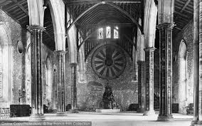 winchester great hall and the round table 1912