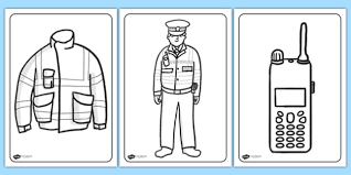 Free Police Colouring Pages Police Colouring Colour Colours