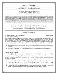 Teacher Assistant Job Description For Resume From 12 Best Teacher As