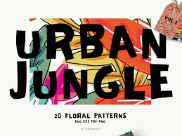 Flex Design Patterns Pdf Seamless Patterns Urban Jungle Vol 1 By Konstantina Louka On