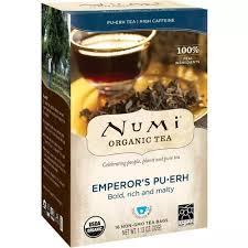 Numi <b>Tea Organic</b> Emperor's <b>Pu</b>-<b>Erh</b>
