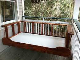 porch daybed swing plans designs