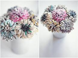 Paper Flower Bouquet For Wedding How To Make Your Own Paper Flowers Rock N Roll Bride