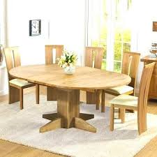 6 chair round dining table set extendable round dining table set solid oak extending round dining