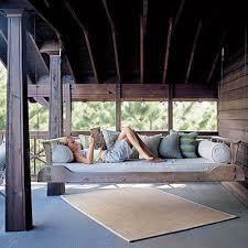 8 Beautiful Hanging Porch Beds