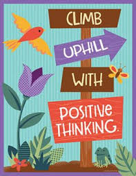 Motivational Charts For School Chart Nature Explorers Climb Uphill Positive Thinking