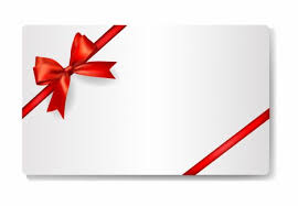 gift card formats gift card with red ribbon vectors stock in format for free