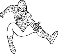 printable coloring pages spiderman. Delighful Printable Spider Man Color Pages Coloring Page Logo   In Printable Coloring Pages Spiderman P