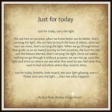 Just For Today Quotes Beauteous Just For Today Quotes Gorgeous Just For Today Meditations