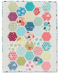 Sew and quilt hexagons in a whole new way (+ giveaway!) - Stitch ... & Honeycomb Hexagons quilt Adamdwight.com