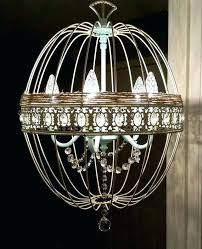 orb chandelier with crystals lovely orb chandelier crystal chandelier round light metal chandelier for metal sphere