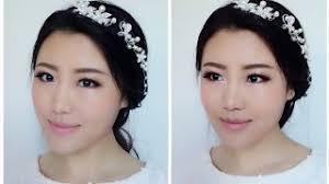 easy bridal makeup tutorial asian bridal makeup korean bridal makeup tutorial