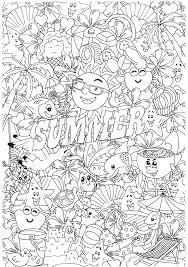 Leuke Kleurplaten In Het Vakantie Thema Van Suzanne Amels