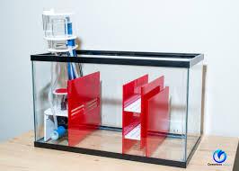 dlux sump kit for 10 gallon aquarium ruby red
