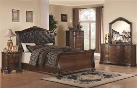 Captivating Maddison 6 Piece Bedroom Set In Warm Cappuccino Finish By Coaster   202261