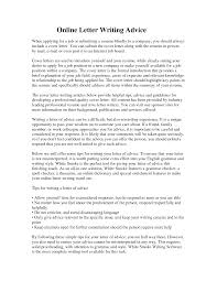Online Cover Letter Cover Letter Builder Easy To Use Done In