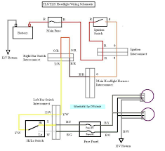 headlights not coming on here you go i put together a schematic for the headlight wiring