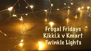 Twinkle Lights Pictures Frugal Fridays Kikki K Versus Kmart Twinkle Lights