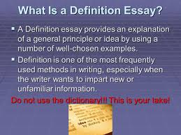 definition essay professor minnis what is a definition essay iuml sect a what is a definition essay