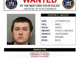 Wanted by NYS Police – Dustin C. McCoy | News Break