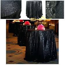 tablecloths overlay round black sequin wedding beautiful table cloth lace tablecloth overlays