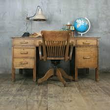Image Office British Large Vintage Oak School Teachers Desk Pinterest Large Vintage Oak School Teachers Desk Easy Woodworking Projects
