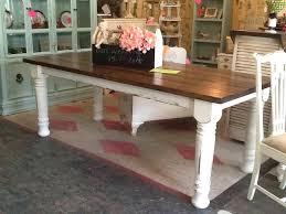 turned leg farmhouse table elegant turned leg farmhouse table al turned