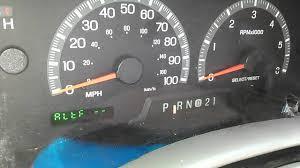 2000 F150 Instrument Cluster Lights 2002 Ford F 150 Xlt Instrument Cluster Diagnostic Mode