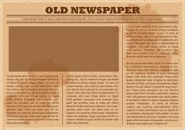 Old Newspaper Article Template Blank Old Newspaper Template Blank Old Newspaper P2c Ideas Hdsat Info