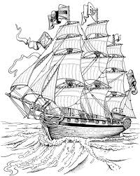Small Picture coloring page Sailing Ships Tall Ships coloring Pinterest