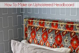 gorgeous shiny things weekend project diy upholstered headboard with nailhead trim
