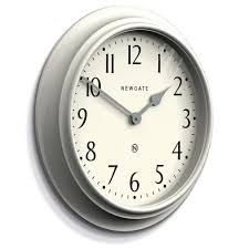 westhampton wall clock linen grey 50cm