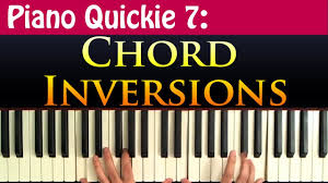 Piano Quickie 7 Chord Inversions