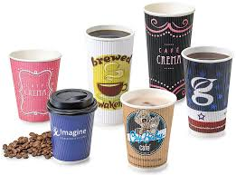 Customizable  oz Hot Drink Coffee Milk Paper Cups Can Print LOGO         Cups Tetley and Daikin in the same frame   such diverse is the use of  Branded Coffee