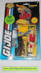 gi joe LIFELINE 1994 v4 battle corps vintage action figures moc mip mib