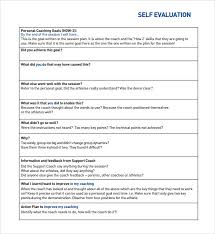 Self Assessment Template