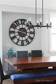 how to decorate with large clocks and