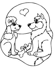 Disegni Cani 1 Disegni Per Bambini Da Stampare E Colorare By Colora