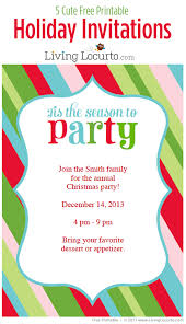 printable christmas invitations diy free printable holiday party cute free printable christmas party