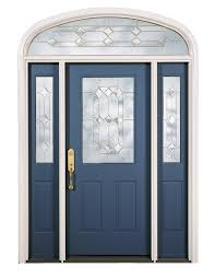 double front door with sidelights. Blue Painted Solid Wood Front Door With Double Sidelight Using Textured Glass Field Decor Entry Doors Sidelights B
