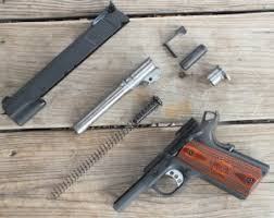 handgun review springfield armory 9mm 1911 range officer gun digest 9mm Pistol Parts lots of ergonomic features can be found on the outside of the ranger officer, accompanied 9mm pistol parts