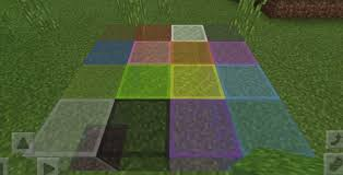 colored glass mod for minecraft pe 0 16 0
