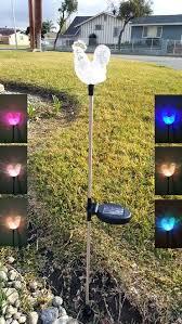 new color changing solar lights outdoor outdoor color changing solar lights set of 20 h9260882 present color