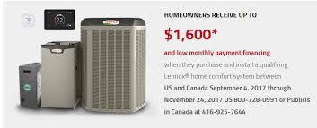 lennox smart thermostat. lennox air conditioning \u0026 furnace rebates riverside ca - hvac specials inland empire lucky smart thermostat