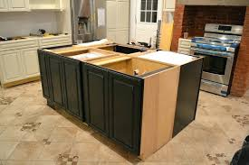 install kitchen island installing new cabinets on with decor 1