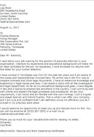 Solicitor Cover Letter Attorney Cover Letter Examples Accounts