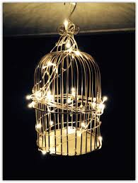time please life diy bird cage chandelier a birdcage