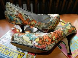 diy comic book desk. Comic Book Shoes 5 Steps With Pictures Diy Desk