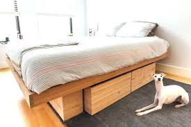 King Size Bed Frame Plans With Storage Storage Bed Plans Pictures Of ...