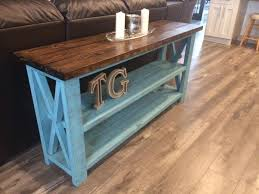 10 diy sofa table ideas